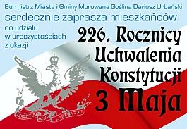 226. Rocznicy Uchwalenia Konstytucji 3 Maja