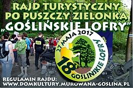 """Rajd Turystyczny po Puszczy Zielonka """"Goślińskie Lofry"""""""