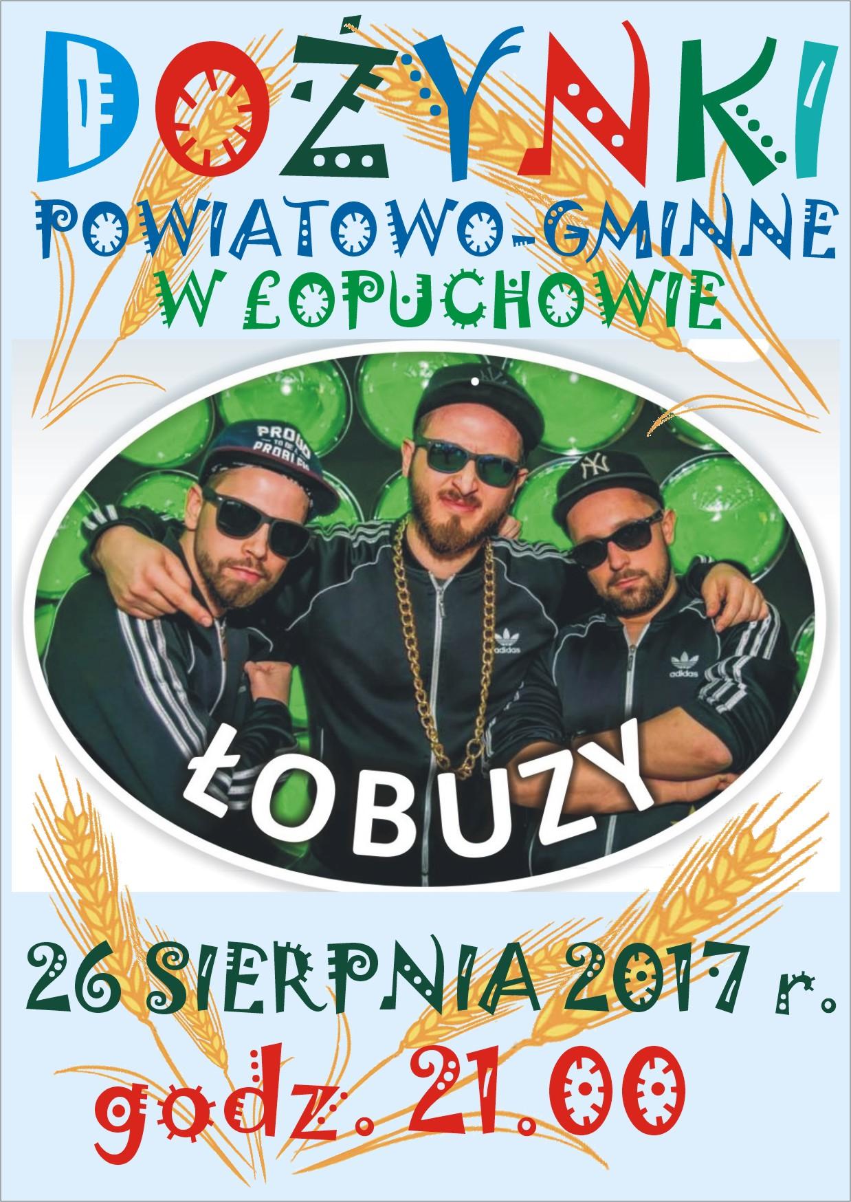 ŁOBUZY - Dożynki Powiatowo - Gminne
