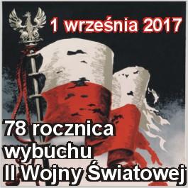 Obchody 78. rocznicy wybuchu II Wojny Światowej
