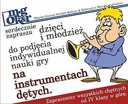 Nauka gry na instrumentach dętych dla dzieci