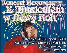 """Koncert Noworoczny """"Z Musicalem w Nowy Rok"""""""