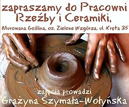 Zapraszamy do Pracowni Rzeźby i Ceramiki