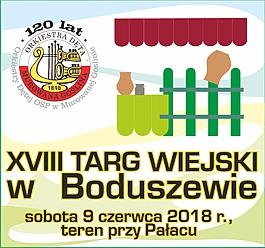 XVIII Targ Wiejski w Boduszewie