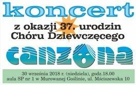 Koncert w okazji 37 urodzin Chóru Dziewczęcego Canzona