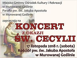 Koncert z okazji Św. Cecylii