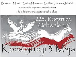 228 Rocznica Uchwalenia Konstytucji 3 Maja