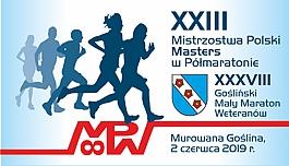 XXIII Mistrzostwa Polski Masters w Półmaratonie, XXXVIII Gośliński Mały Maraton Weteranów