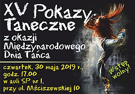 XV Pokazy Taneczne z okazji Międzynarodowego Dnia Tańca